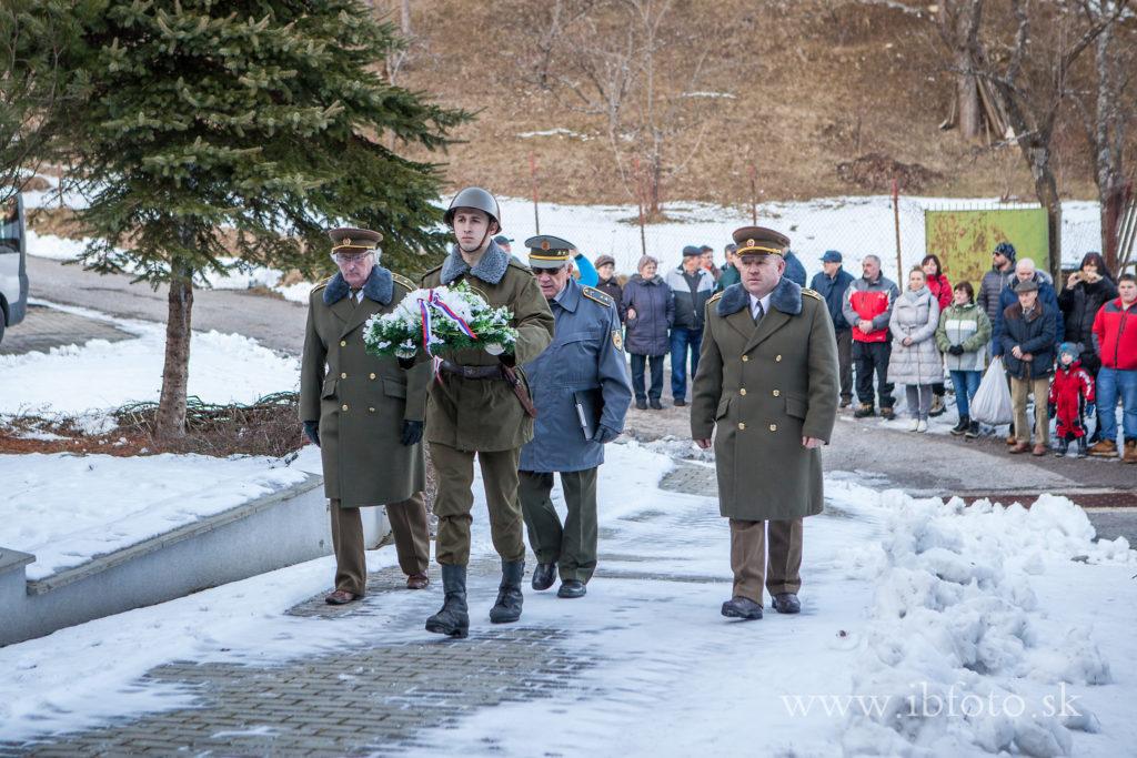 Oslavy 75. výročia oslobodenia obce Mýto pod Ďumbierom